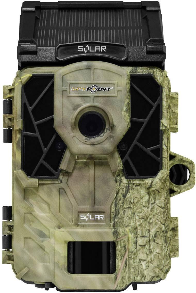 Fotopast Spypoint 12 MPix, černé LED diody, nahrávání zvuku, maskáčová
