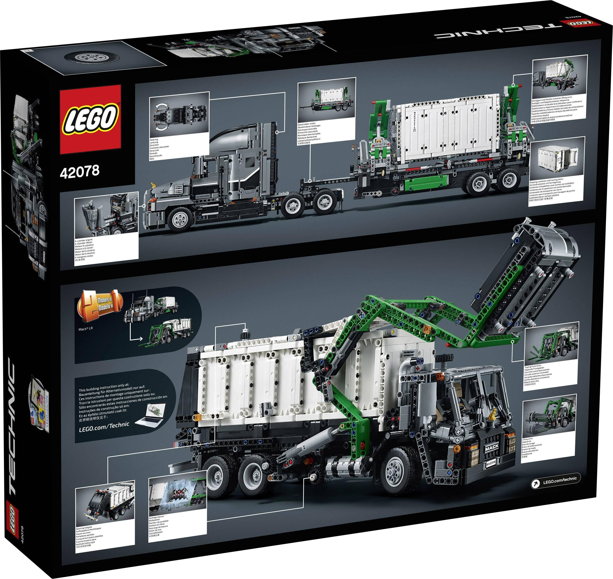 LEGO® TECHNIC 42078 Mack® Anthem™