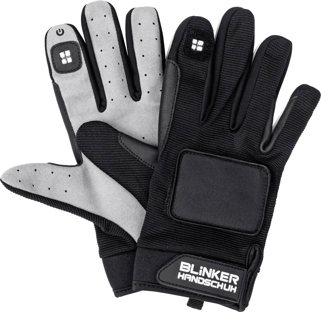 Rukavice a blinkrami Blinker Handschuh 0501, M/L, 1 pár