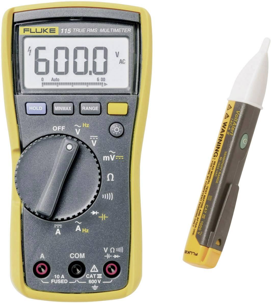 Digitální multimetr se zkoušečkou napětí Fluke FLK-115/1 ACII, 4911706