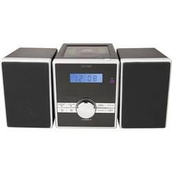 Stereo systém Denver MCA-230MK2, AUX, CD, FM, černá, stříbrná