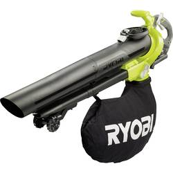 Akumulátorová foukač listí, drtič listí, vysavač listí 36 V pojízdný, bez akumulátoru Ryobi RBV36B