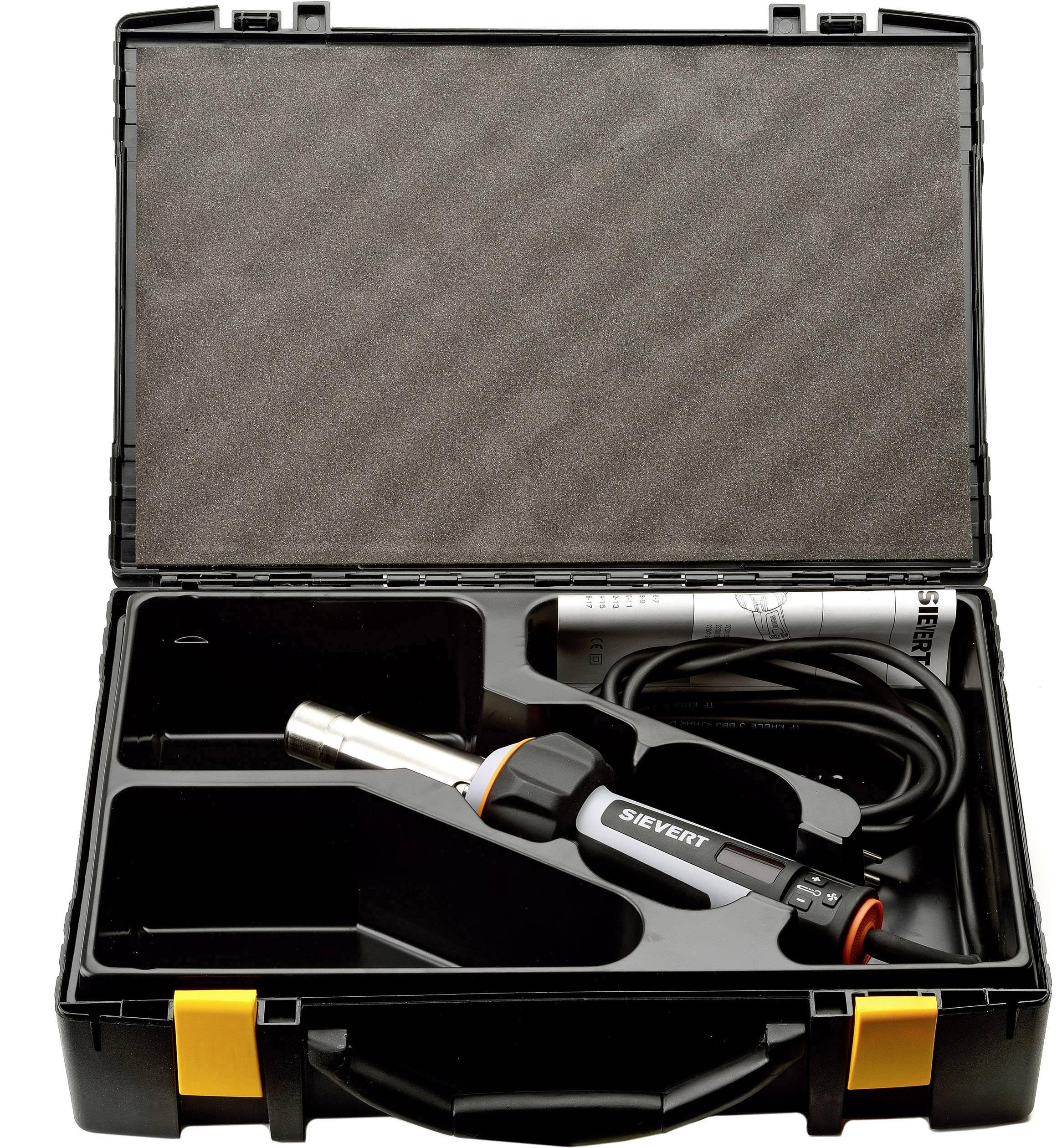 Teplovzdušná pištoľ Sievert DW3000 293001, 2000 W