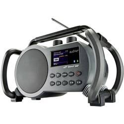 Internetové rádio audisse Netbox, AUX, Bluetooth, USB, Wi-Fi, internetové rádio, šedá