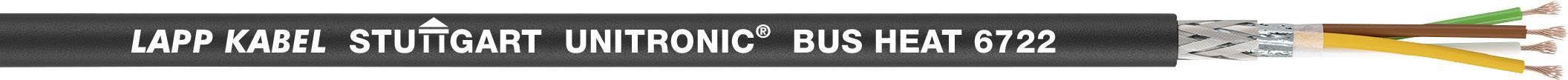 Sběrnicový kabel LAPP UNITRONIC® BUS HEAT 6722 2170387/1000, vnější Ø 8.36 mm, černá, 1000 m