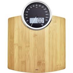 Analogová a digitální osobní váha 2 v 1 ADE BE 1719 Luna, Max. váživost 180 kg, bambusová