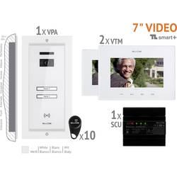 Kabelový domovní video telefon Bellcome VKM.P2FR.T7S4.BLW04, bílá