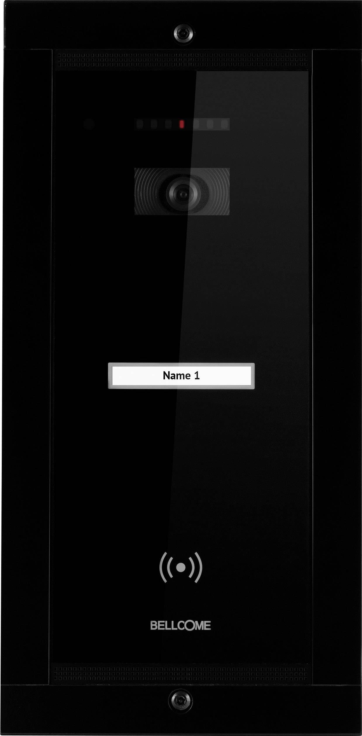 Káblový video dverový telefón - vonkajšia jednotka Bellcome VPA.1FR02.BLB04, čierna
