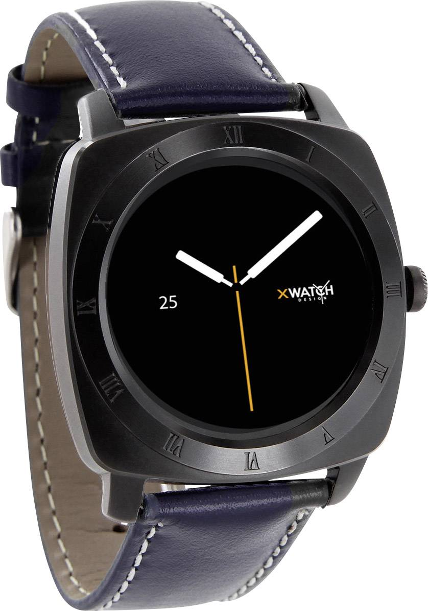 Chytré hodinky Xlyne Nara XW Pro CL, námořnická modrá, černá