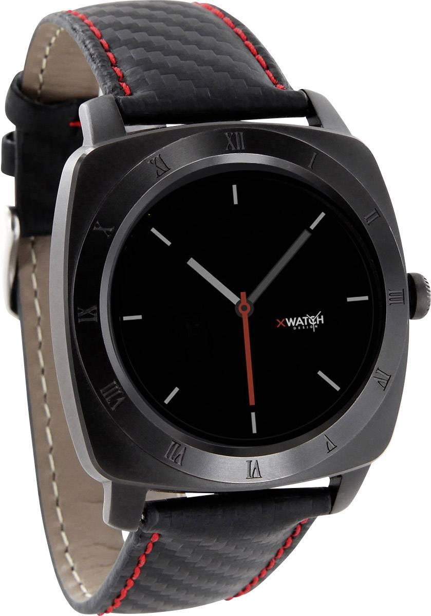 Chytré hodinky Xlyne Nara XW Pro CL, červenočerná