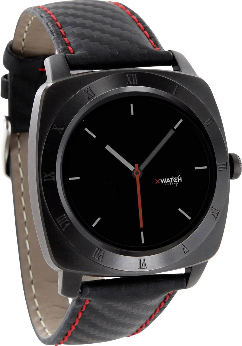 Smart hodinky Xlyne Nara XW Pro CL, červenočierna