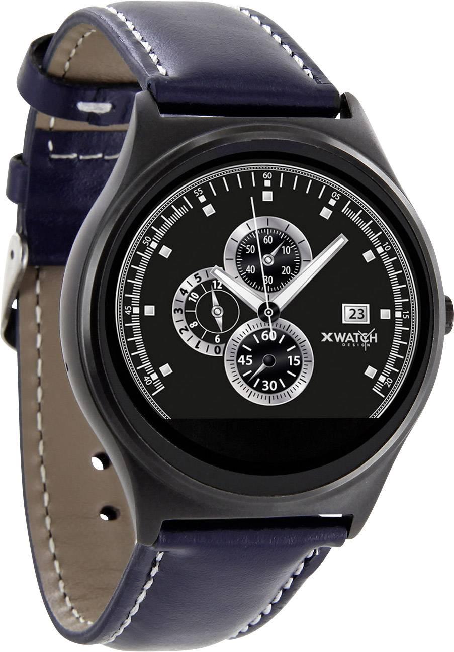 Chytré hodinky X-WATCH QIN XW Prime II, námořnická modrá