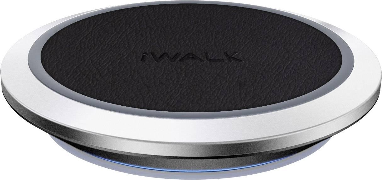Bezdrátová indukční nabíječka iWalk ADA007-001A, Qi standard, černá/stříbrná