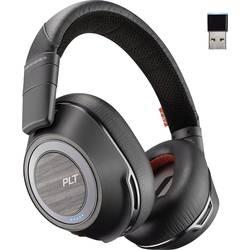 Telefonní headset s Bluetooth bez kabelu Plantronics 8200 UC přes uši černá