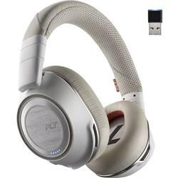 Telefonní headset s Bluetooth bez kabelu Plantronics 8200 UC přes uši bílá