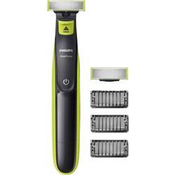 Holicí strojek na tvář, zastřihovač vousů Philips OneBlade QP2520/30, omyvatelný, světle zelená, tmavě šedá