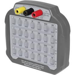 VOLTCRAFT R-BOX 02 Mess-Dekade, 1 až 10 MΩ 60 V/DC