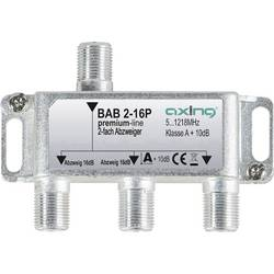 Odbočka TV kabelu dvojitý Axing BAB 2-16P