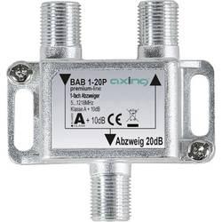 Odbočka TV kabelu jednoduchý Axing BAB 1-20P