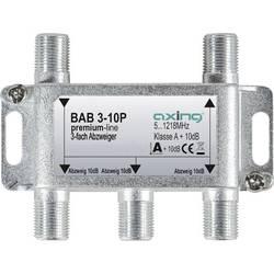 Odbočka TV kabelu trojitý Axing BAB 3-10P