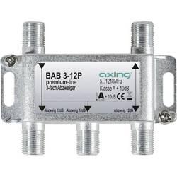 Odbočka TV kabelu trojitý Axing BAB 3-12P
