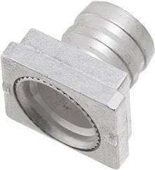 Krimpovací objímka pro encitech CF 9-37, 1599-0010-03, metalická , 1 ks