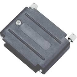 D-SUB pouzdro adaptéru encitech DAPK25-JS-K 6211-0100-33, pólů 25, plast, černá, 1 ks