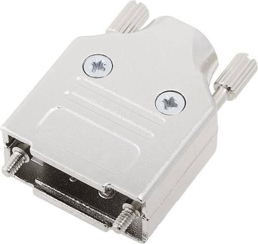 D-SUB púzdro encitech MHDM09-K 6560-0136-01, Počet pinov: 9, 180 °, strieborná, 1 ks