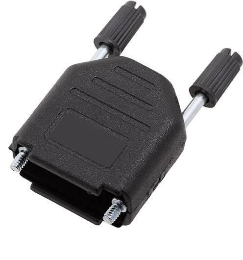 D-SUB pouzdro encitech DPPK09-BK-K 6260-0101-01, pólů 9, plast, 180 °, černá, 1 ks