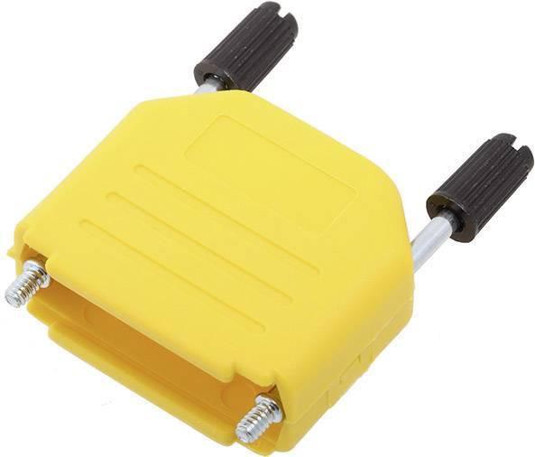 D-SUB pouzdro encitech DPPK15-Y-K 6353-0105-02, pólů 15, plast, 180 °, žlutá, 1 ks