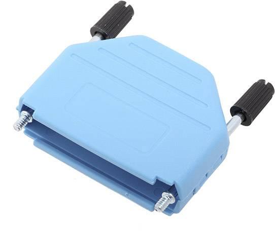D-SUB pouzdro encitech DPPK25-B-K 6353-0104-03, pólů 25, plast, 180 °, modrá, 1 ks