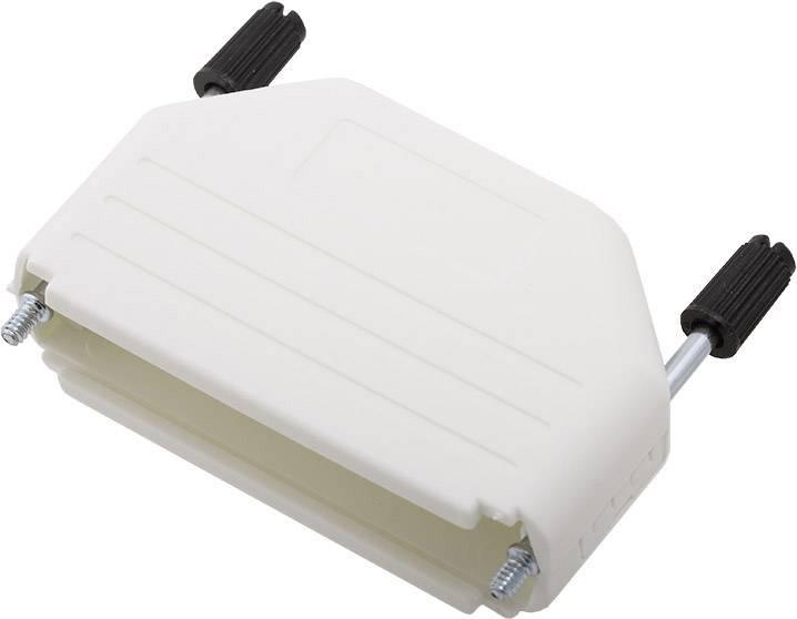 D-SUB pouzdro encitech DPPK50-W-K 6353-0107-05, pólů 50, plast, 180 °, bílá, 1 ks