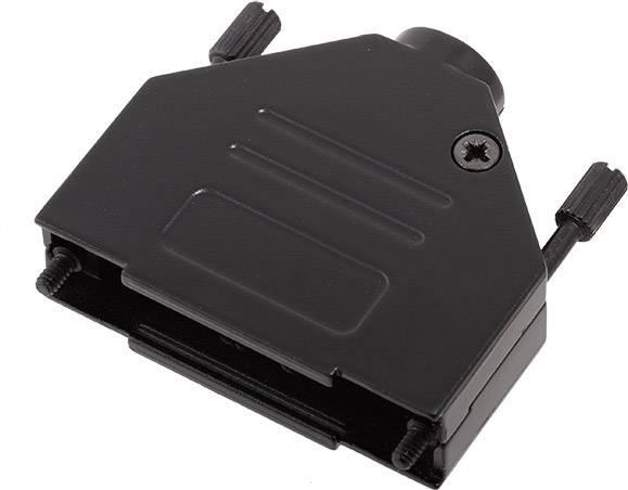 D-SUB pouzdro encitech DTZK25-BK-K 6560-0115-03, pólů 25, 180 °, černá, 1 ks