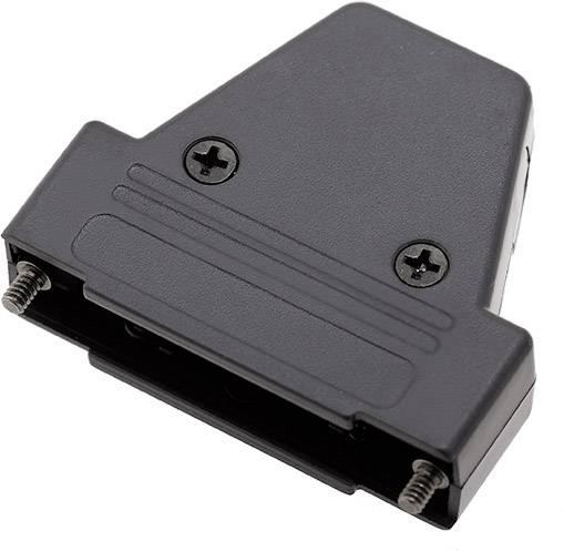 D-SUB pouzdro encitech TRI-P-25-K 6550-0101-03, pólů 25, plast, 180 °, 45 °, 45 °, černá, 1 ks