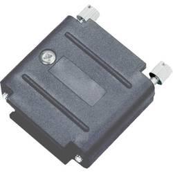D-SUB pouzdro adaptéru encitech DAPK15-JS-K 6211-0100-32, pólů 15, plast, černá, 1 ks