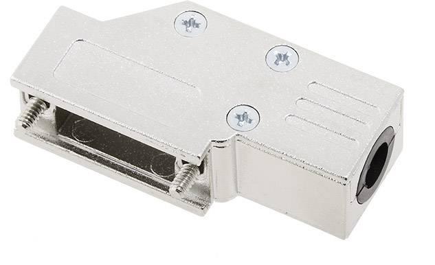 D-SUB pouzdro encitech DCMR09-FK-K 6560-0501-01, pólů 9, 90 °, stříbrná, 1 ks