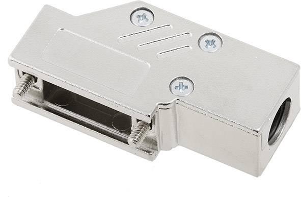 D-SUB pouzdro encitech DCMR09-ULP 1060-0135-01, pólů 9, 90 °, stříbrná, 1 ks