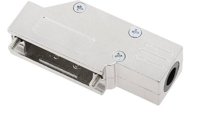D-SUB pouzdro encitech DCMR15-FK-K 6560-0501-02, pólů 15, 90 °, stříbrná, 1 ks