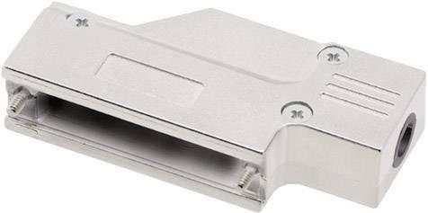 D-SUB pouzdro encitech DCMR25-FK-K 6560-0501-03, pólů 25, 180 °, stříbrná, 1 ks