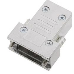 D-SUB pouzdro encitech DCRP09-K 1520-0301-01, pólů 9, 180 °, stříbrná, 1 ks