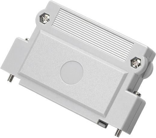 D-SUB pouzdro encitech DFCK37-P-K 1520-0101-04, pólů 37, plast, 180 °, šedá, 1 ks