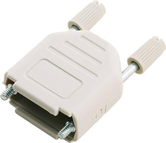 D-SUB pouzdro encitech DPPK09-LG-K 6353-0101-01, pólů 9, plast, 180 °, světle zelená, 1 ks
