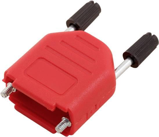 D-SUB pouzdro encitech DPPK09-R-K 6353-0103-01, pólů 9, plast, 180 °, červená, 1 ks