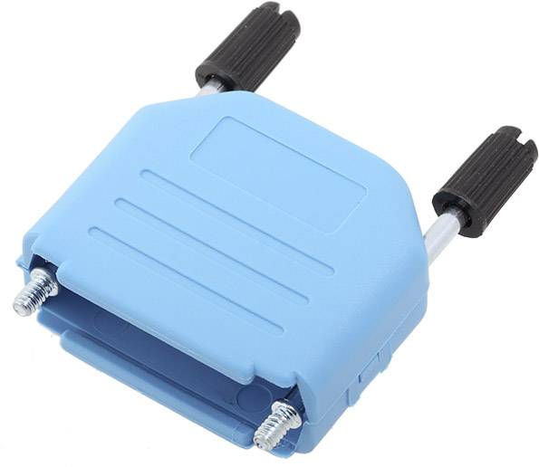 D-SUB pouzdro encitech DPPK15-B-K 6353-0104-02, pólů 15, plast, 180 °, modrá, 1 ks