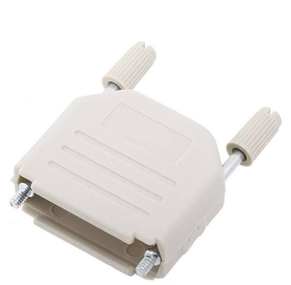D-SUB pouzdro encitech DPPK15-LG-K 6353-0101-02, pólů 15, plast, 180 °, světle zelená, 1 ks