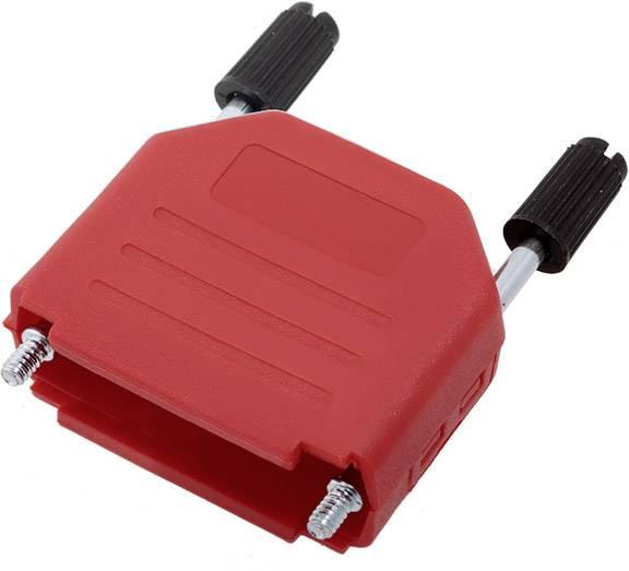 D-SUB pouzdro encitech DPPK15-R-K 6353-0103-02, pólů 15, plast, 180 °, červená, 1 ks