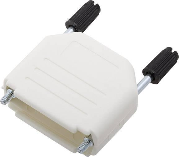 D-SUB pouzdro encitech DPPK15-W-K 6353-0107-02, pólů 15, plast, 180 °, bílá, 1 ks