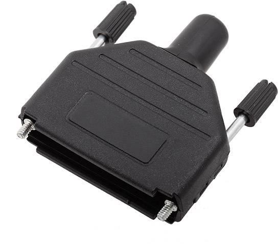 D-SUB pouzdro encitech DPPK25-BK-RG-K 6260-0101-53, pólů 25, plast, 180 °, černá, 1 ks