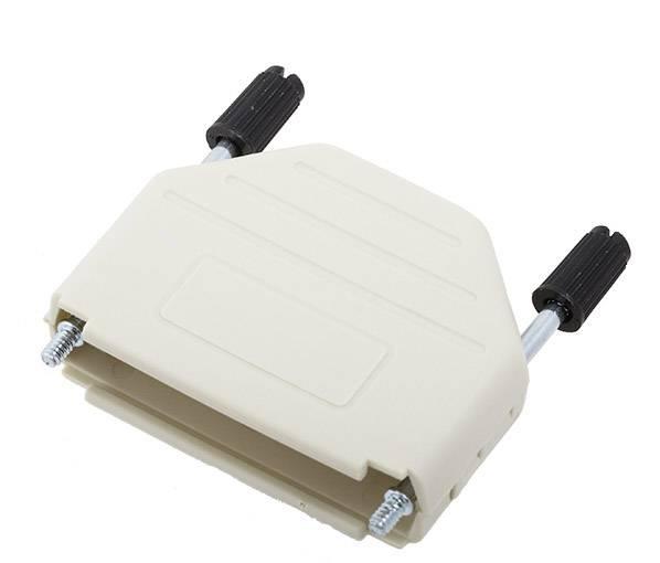 D-SUB pouzdro encitech DPPK25-DE-K 6353-0102-03, pólů 25, plast, 180 °, počítačová šedá, 1 ks