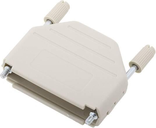 D-SUB pouzdro encitech DPPK25-LG-K 6353-0101-03, pólů 25, plast, 180 °, světle zelená, 1 ks